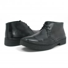 Classic Playboy Chukka Boot Black Leather