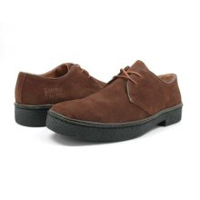 British Collection Men's Playboy Low Cut Brown Suede