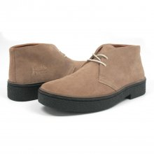 Classic Playboy Chukka Boot Taupe Suede