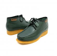 British Collection Knicks Green Leather