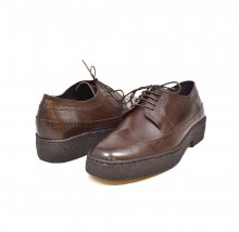 British Collection Wingtips lowcut Brown Leather