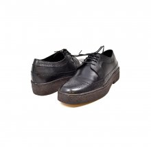 British Collection Wingtips lowcut Black Leather