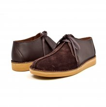 "British Collection ""Kingston,"" Brown Leather and Suede"
