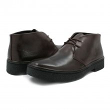 Classic Playboy Chukka Boot Dark Brown Leather