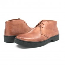 Classic Playboy Chukka Boot Light Brown Leather