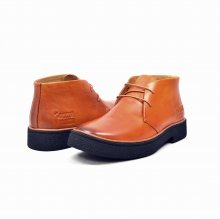 Classic Playboy Chukka Boot Rust Leather