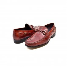 "British Collection ""Leon"" Bordeaux Slip-on Leather"