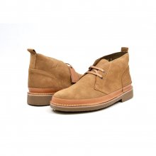 "British Collection ""Cambridge"" Tan Leather and Suede"