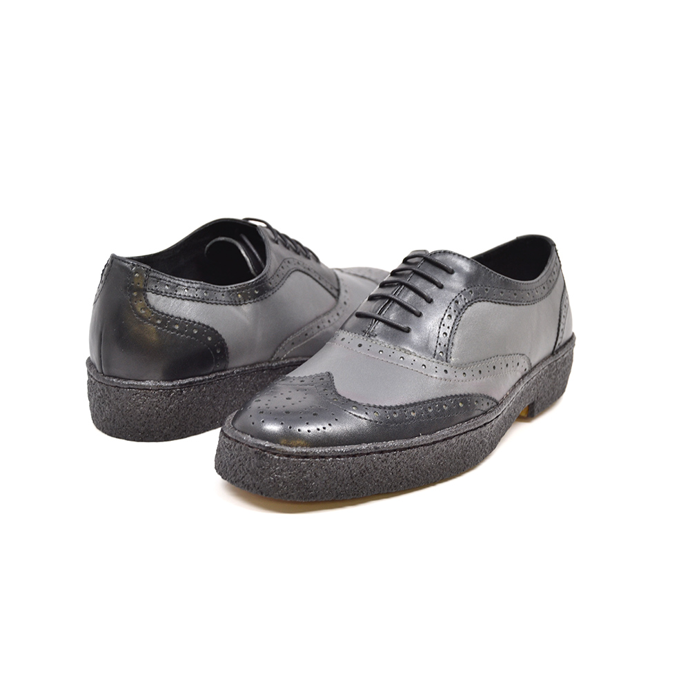 British Collection Wingtips Two tone