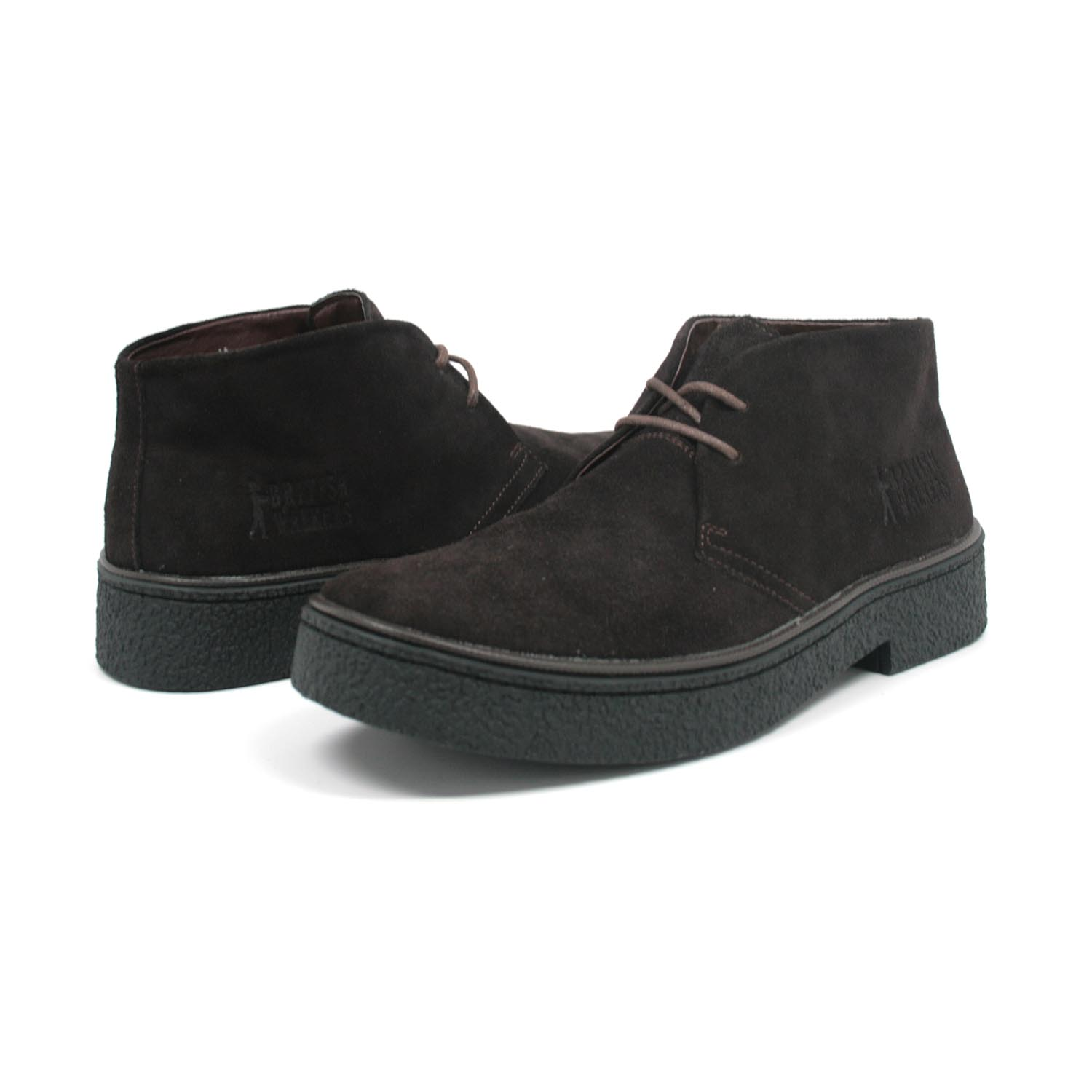 British Collection Men's Playboy Chukka Boot Black Suede - $99.99 ...