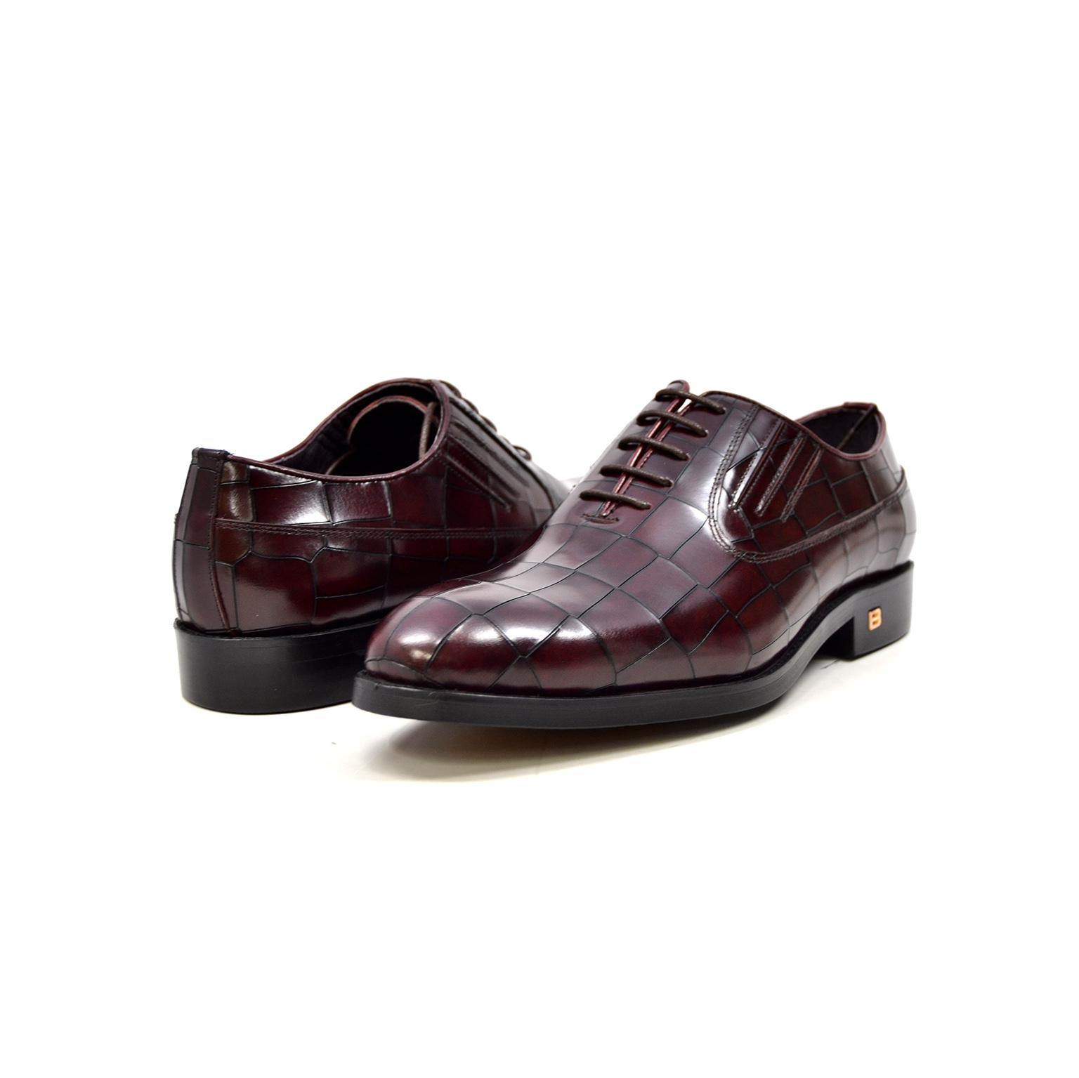 "British Collection ""Phoenix"" bordeaux Leather"