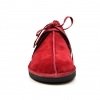 "British Collection ""Kingston,"" Burgundy Leather and Suede"