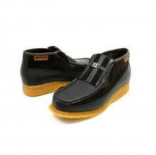 British Collection Apollo-Brown Leather/Brown Suede Slip-on