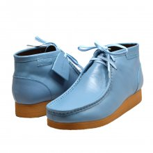 "British Collection ""New Castle 2""-Sky Blue Leather"