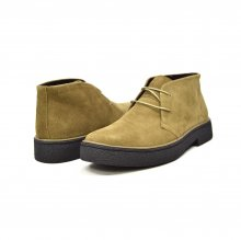 Classic Playboy Chukka Boot Olive Suede