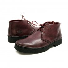 Classic Playboy Chukka Boot Burg. Leather