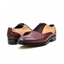 "British Collection ""Albert"" 3 Tone Brown, tan, Dk Brown leather"