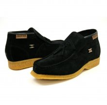 British Collection Palace Black Suede Slip-on