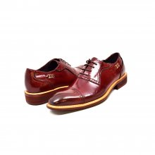 "British Collection ""Executive"" Bordeaux Leather Oxford"