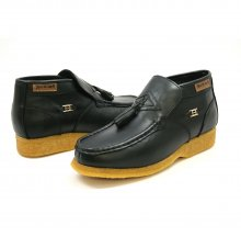 British Collection Palace Black Leather Slip-on