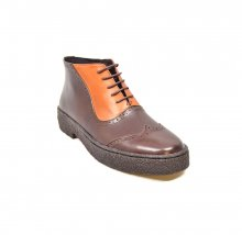 British Collection Playboy Wingtips3 Limited-Two Tone Tan/Brown