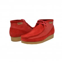 "British Collection""New Castle""-Red Leather and Suede"
