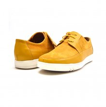 "British Collection ""Westminster"" Yellow Leather and Suede"