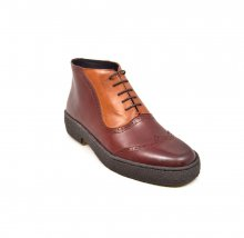 British Collection Playboy Wingtips1 Limitd-Two Tone Oxblood/Tan