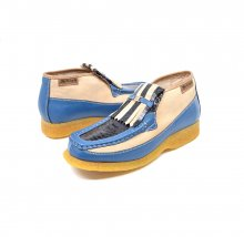 British Collection Apollo2 Limited-Beige/Blue combo Snak/Le