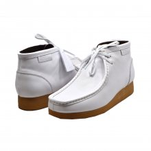"British Collection ""New Castle 2""-White Leather"