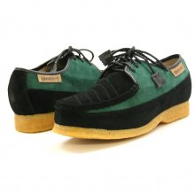 British Collection Crown-Green Suede/Black Suede