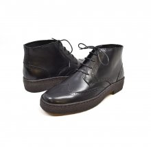 British Collection Wingtip Limited-all Black Leather