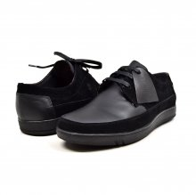 "British Collection ""Bristols"" Black Leather and Suede"