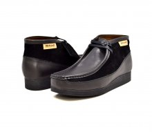 "British Collection""New Castle""-Black Leather and Suede"