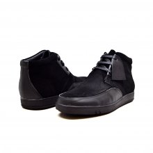 "British Collection ""Birmingham"" Black Suede and Leather"
