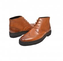 British Collection Wingtip Limited-all cognac Leather