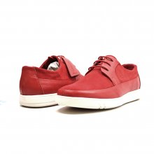 "British Collection ""Westminster"" Red Leather and Suede"