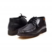 British Collection Knicks Black Leather and Black Sole