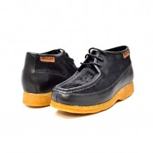 British Collection Knicks Black Leather and Pony Skin