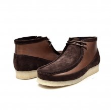 "British Collection ""Walkers""-Brown Leather and Suede"