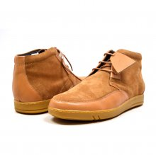 "British Collection ""Birmingham"" Cognac Suede and Leather"