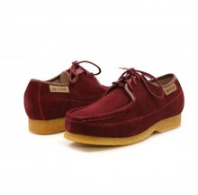 British Collection Crown-Burgundy Suede