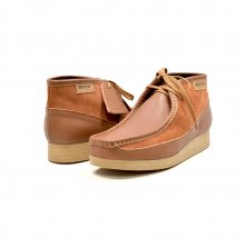 "British Collection""New Castle""- Tan Leather and Suede"