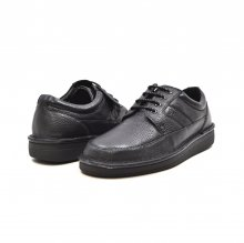 "British Collection ""Oxfords"" Black Leather"