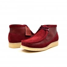 "British Collection ""Walkers""-Burgundy Suede and Leather"