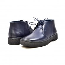 Classic Playboy Chukka Boot Navy Leather