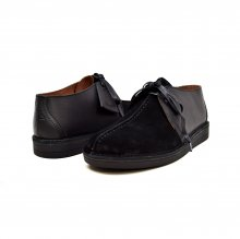"British Collection ""Kingston,"" Black Leather and Suede"