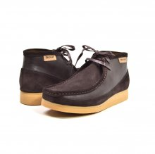 "British Collection""New Castle""-Brown Suede and leather"