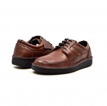 "British Collection ""Oxfords"" Brown Leather"