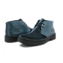 Classic Playboy Chukka Boot Navy/Navy Split Toe